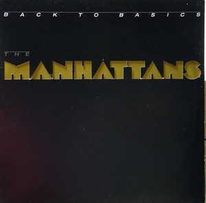 Album  Cover The Manhattans - Back To Basics on COLUMBIA Records from 1986