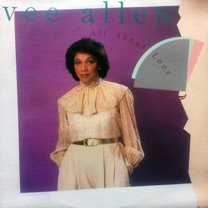 Front Cover Album Vee Allen - All About Love