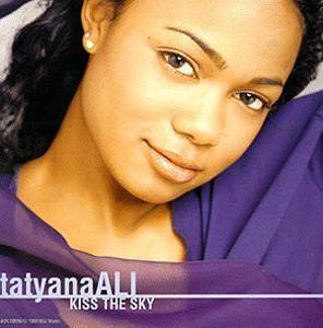 Album  Cover Tatyana Ali - Kiss The Sky on MJJ MUSIC Records from 1998