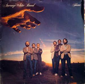 Album  Cover Average White Band - Shine on RCA Records from 1980