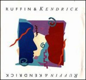 Album  Cover David Ruffin - Ruffin And Kendricks on RCA Records from 1988