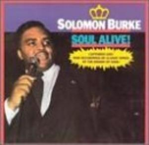 Album  Cover Solomon Burke - Alive on ROUNDER Records from 1984