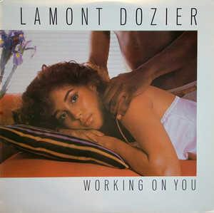 Album  Cover Lamont Dozier - Working On You on  Records from 1981