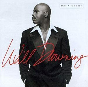 Album  Cover Will Downing - Invitation Only on MERCURY Records from 1997