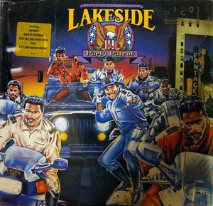 Album  Cover Lakeside - Party Patrol on SOLAR Records from 1990