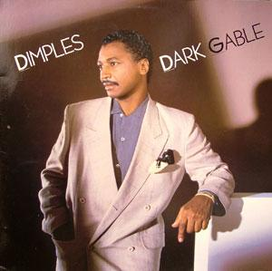 Album  Cover Fields Richard Dimples - Dark Gable on RCA Records from 1985