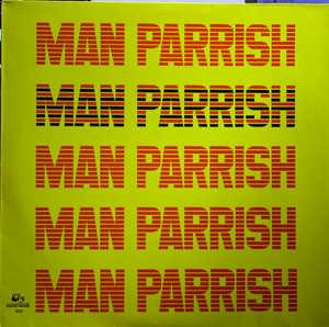 Album  Cover Man Parrish - Man Parrish on RAMS HORN Records from 1983