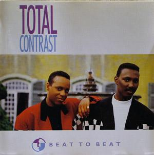 Album  Cover Total Contrast - Beat To Beat on LONDON Records from 1987