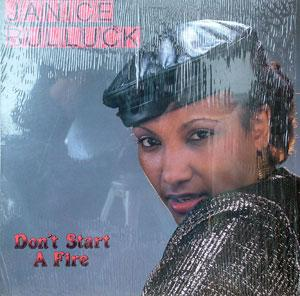 Album  Cover Janice Bulluck - Don't Start A Fire on WRC Records from 1987