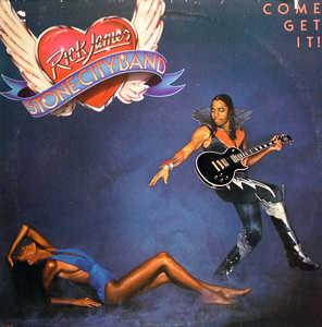 Album  Cover Rick James - Come Get It on GORDY Records from 1978