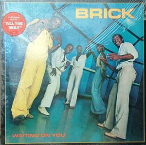 Album  Cover Brick - Waiting On You on BANG Records from 1980