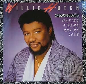 Album  Cover Willie Hutch - Making A Game Out Of Love on MOTOWN Records from 1985