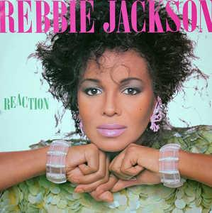 Album  Cover Rebbie Jackson - Reaction on COLUMBIA Records from 1986