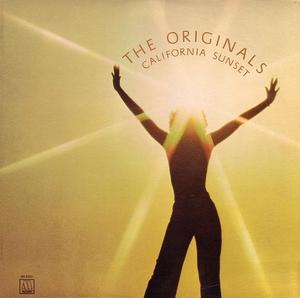 Album  Cover The Originals - California Sunset on MOTOWN Records from 1975