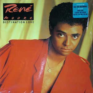 Album  Cover René Moore - Destination Love on POLYDOR Records from 1988
