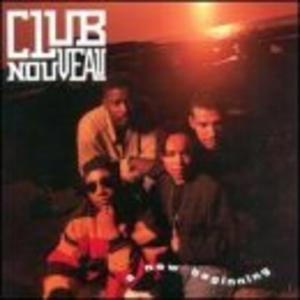 Album  Cover Club Nouveau - A New Beginning on COLUMBIA Records from 1992
