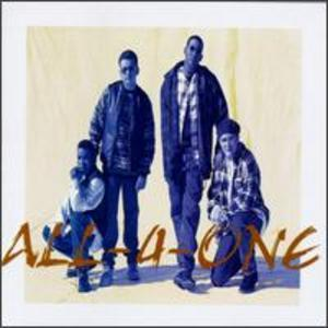 Front Cover Album All 4 One - All-4-one