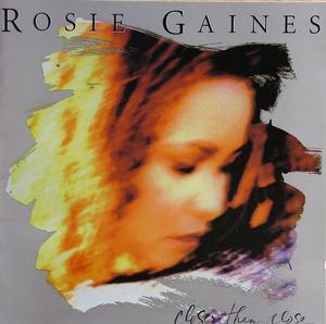 Album  Cover Rosie Gaines - Closer Than Close on MOTOWN Records from 1995