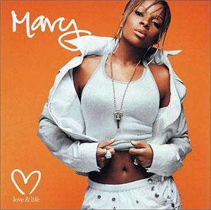 Album  Cover Mary J. Blige - Love And Life on GEFFEN Records from 2003