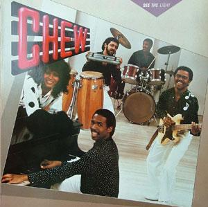 Album  Cover Chew - See The Light on CAPITOL Records from 1983