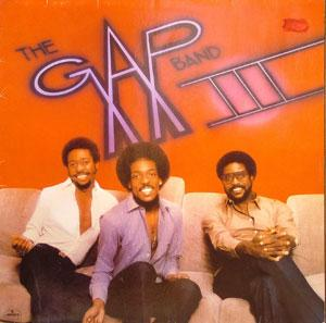 Front Cover Album The Gap Band - Gap Band III