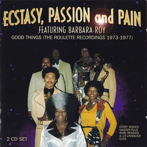 Album  Cover Ecstasy Passion & Pain - Good Things (the Roulette Recordings 1973-1977) on WESTSIDE Records from 1999