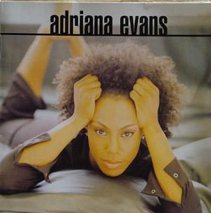 Album  Cover Adriana Evans - Adriana Evans on BMG Records from 1997