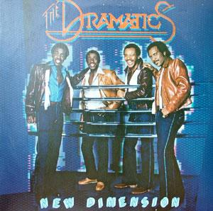 Album  Cover The Dramatics - New Dimension on CAPITOL Records from 1982