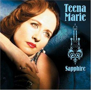 Album  Cover Teena Marie - Sapphire on CASH MONEY Records from 2006