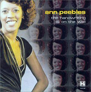 Album  Cover Ann Peebles - The Handwriting On The Wall on HI Records from 1979