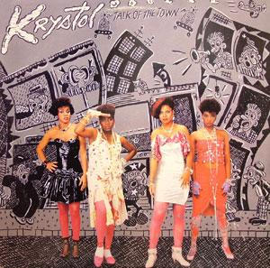 Album  Cover Krystol - Talk Of The Town on UNITED ARTIST Records from 1985