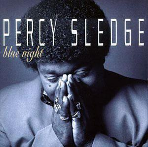 Album  Cover Percy Sledge - Blue Night on SKY RANCH Records from 1994