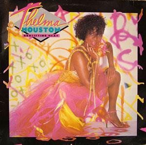 Album  Cover Thelma Houston - Qualifying Heat on MCA Records from 1984