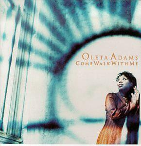 Album  Cover Oleta Adams - Come Walk With Me on HARMONY Records from 1997