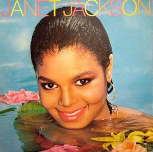 Album  Cover Janet Jackson - Janet Jackson on A&M Records from 1982
