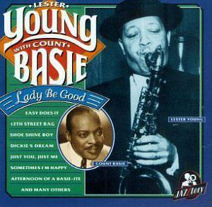Album  Cover Lester Young - Lady Be Good on JAZZTORY Records from 1996