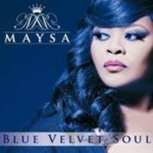 Album  Cover Maysa - Blue Velvet Soul on SHANACHIE Records from 2013
