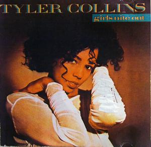 Album  Cover Tyler Collins - Girls Nite Out on RCA Records from 1989