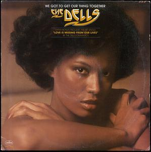 Album  Cover The Dells - We Got To Get Our Thing Together on MERCURY Records from 1975