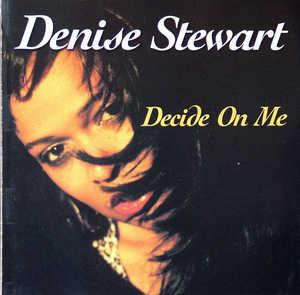 Album  Cover Denise Stewart - Decide On Me on EXPANSION Records from 2001