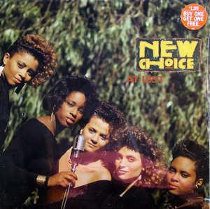 Front Cover Album New Choice - At Last