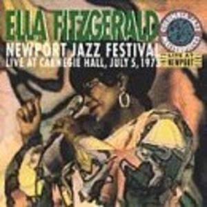 Album  Cover Ella Fitzgerald - Newport Jazz Festival: Live At Carnegie Hall on COLUMBIA Records from 1973