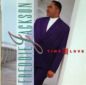 Front Cover Album Freddie Jackson - Time For Love
