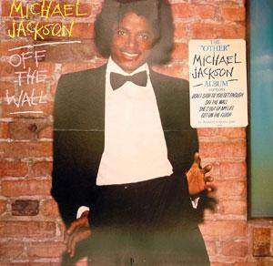 Album  Cover Michael Jackson - Off The Wall on EPIC Records from 1979