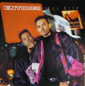 Album  Cover Entouch - All Nite on ELEKTRA Records from 1989