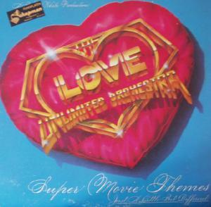 Album  Cover The Love Unlimited Orchestra - Super Movie Themes - Just A Little Bit Different  on 20TH CENTURY Records from 1979