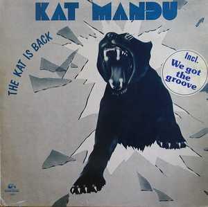 Album  Cover Kat-mandu - The Kat Is Back on MANHATTAN FORMULA Records from 1982