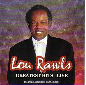 Album  Cover Lou Rawls - Live on PHILADELPHIA INTERNATIONAL Records from 1978