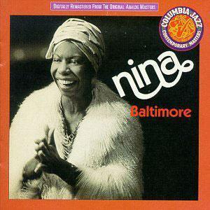 Album  Cover Nina Simone - Baltimore on CTI Records from 1978