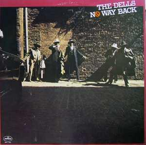 Album  Cover The Dells - No Way Back on MERCURY Records from 1976
